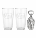 Arthur Court Florida Pub Glass / Opener Set