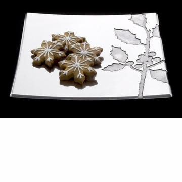 Arthur Court Holly 12 Square Tray