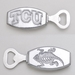 Arthur Court TCU Bottle Opener