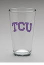 Arthur Court TCU Pub Glass