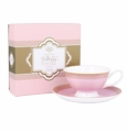 Ashdene Bone China Teacup & Saucer - Rose - Madame Butterfly Tea Party
