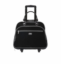 Baggallini Black/Charcoal Rolling Tote