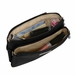 Baggallini Black Double Zip Wristlet Wallet with RFID Shield  With Sand Lining