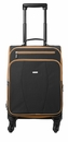 Baggallini Black Getaway Roller Travel Bag With Sand Lining