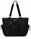 Baggallini Black On The Go Baby Tote Bag