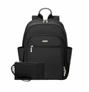 Baggallini Black/Sand Essential Laptop Backpack With RFID