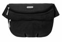 Baggallini Black Waist Pack Hip Pack Bag With Sand Lining
