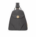 Baggallini Charcoal Dallas Convertible Backpack