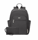 Baggallini Charcoal Essential Laptop Backpack With RFID