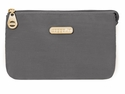 Baggallini Charcoal Rome Cosmetic Case