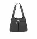 Baggallini Charcoal Satchel With RFID