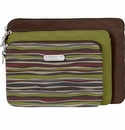 Baggallini Java Multi 3 Pouch Cosmetic Bag Travel Set