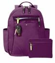 Baggallini Mulberry Gadabout Laptop Backpack
