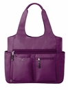 Baggallini Mulberry Get Along Large Yoga Tote