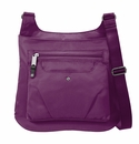 Baggallini Mulberry Savvy Top Zip Crossbody