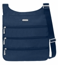 Baggallini Pacific Big Zipper Crossbody Bag with RFID Shield