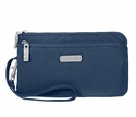 Baggallini Pacific RFID Double Zip Wristlet