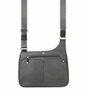 Baggallini Pewter Stand Up Crossbody Bag
