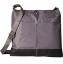 Baggallini Pewter The Porter Crossbody Bag