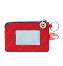 Baggallini Red/Navy RFID Card Case