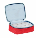 Baggallini Red/Navy Travel Pill Case