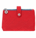 Baggallini Red/Navy Tsa Friendly Toiletry Case