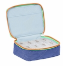 Baggallini Royal Blue/Mint Travel Pill Case