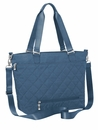 Baggallini Slate Quilt Quilted Avenue Tote With RFID