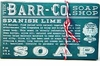 Barr-Co. Soap Shop 6 oz Spanish Lime Bar Soap