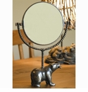 Bear and Fish Mirror by SPI Home