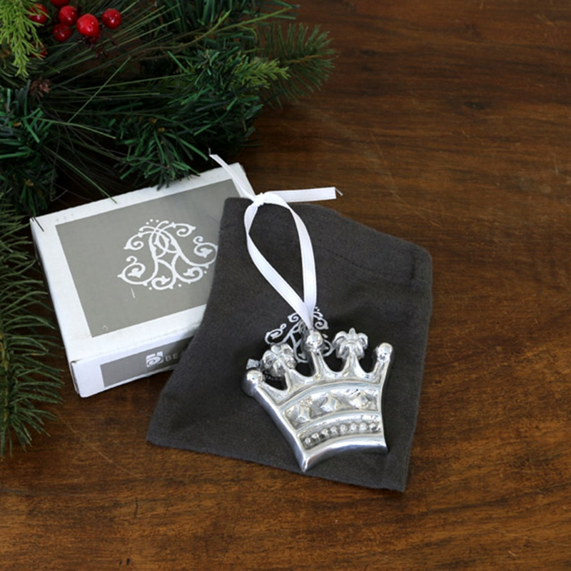 Beatriz ball holiday crown ornament for Christmas crown decoration