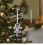 Beatriz Ball Holiday Fleur De Lis Ornament