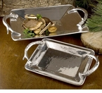 Beatriz Ball Western Antlers Rectangular Tray - Medium