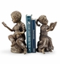 Bedtime Story Boy And Girl Bookends by SPI Home