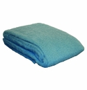 Birchwood Aqua Ezcaray Mohair & Wool Throw