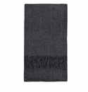 Birchwood Ashbrook Grey Stripe Lambswool Scarf