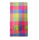 Birchwood Carrigan Bright Plaid Lambswool Scarf