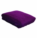 Birchwood Eggplant Purple Ezcaray Mohair & Wool Throw
