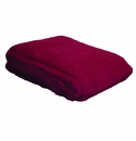 Birchwood Garnet Red Ezcaray Mohair & Wool Throw