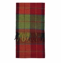 Birchwood Moygrove Plaid Lambswool Scarf