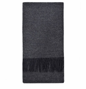 Birchwood Stonehall Dark Grey Lambswool Scarf