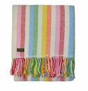 Birchwood Wales Rainbow Stripe New Wool Throw