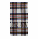 Birchwood Westport White Plaid Lambswool Scarf