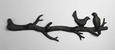 Bird Branch Bronzed Iron Coat Hook by Cyan Design