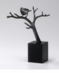 Bird On Branch Iron Sculpture by Cyan Design