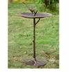 Bird on Branch Sundial Birdbath by SPI Home