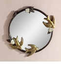 Birds In Flight Wall Mirror by SPI Home
