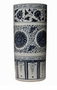 Dessau Home Blue And White Umbrella Stand Home Decor