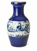 Dessau Home Blue & White Long Life Jar Home Decor