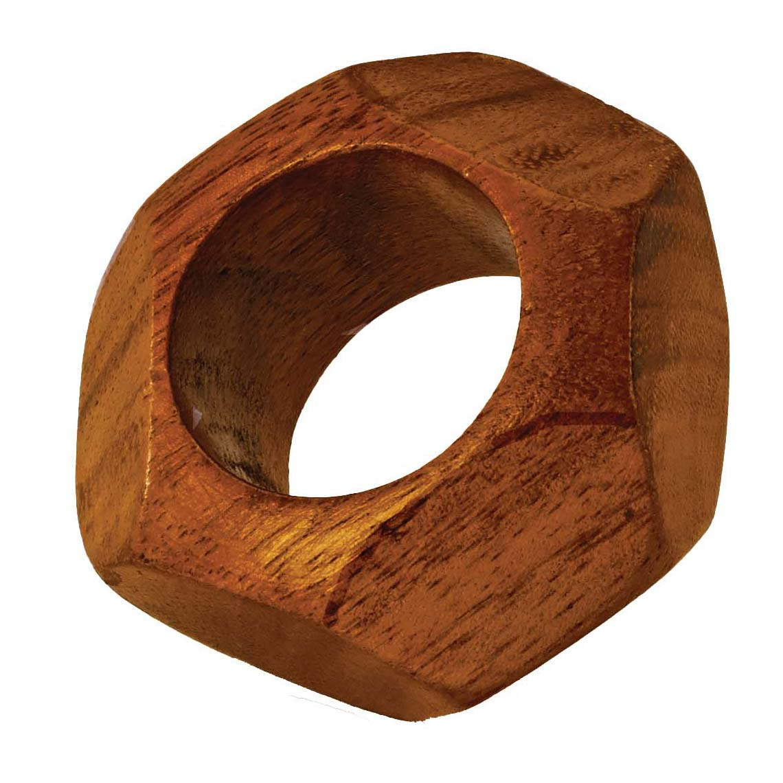wooden rings index teak ring